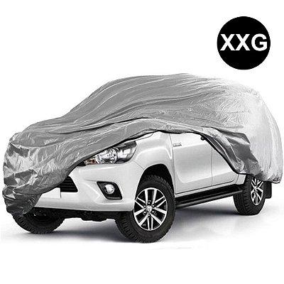 Capa para Cobrir Carro Impermeável com Forro Parcial Tamanho XXG Pick-up