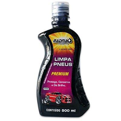 Limpa Pneus Pretinho 500ml RADNAQ
