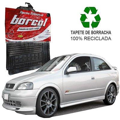 Tapete Borcol Astra 1997 a 2002 Hatch e Sedan de Borracha Jogo c/ 4 Peças