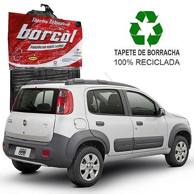 Tapete Borcol Uno Novo Vivace de Borracha Jogo c/ 4 Peças