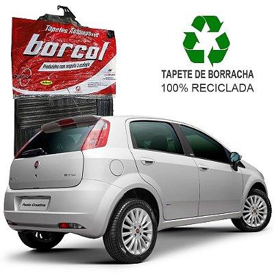 Tapete Borcol Punto de Borracha Jogo c/ 4 Peças