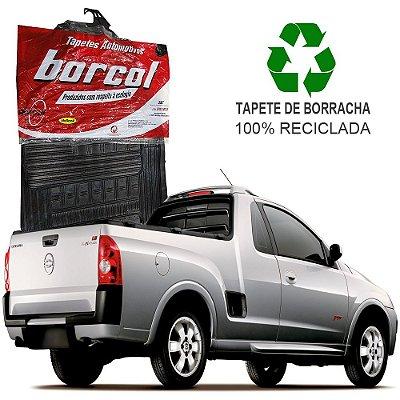 Tapete Borcol Montana 2003 a 2010 de Borracha Jogo c/ 2 Peças