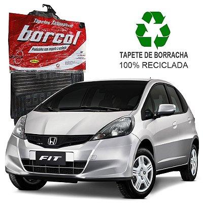 Tapete Borcol Fit 2009 a 2014 em diante de Borracha Jogo c/ 4 Peças