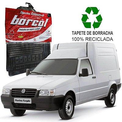 Tapete Borcol Fiorino 1985 a 2013 de Borracha Jogo c/ 2 Peças