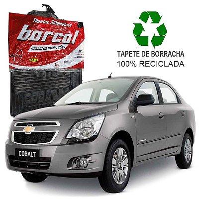 Tapete Borcol Cobalt de Borracha Jogo c/ 4 Peças