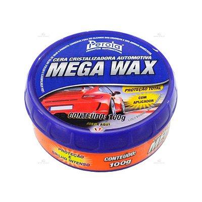 Cera Cristalizadora Mega Wax Pérola 100g