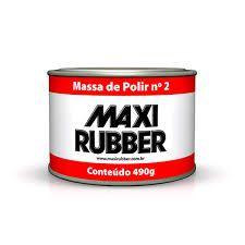 Massa Polir Maxi Rubber 490g