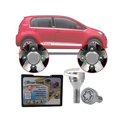 Trava Parafusos Porcas Antifurto Roubo Farad Starlock Volkswagen Up