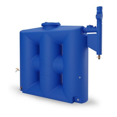 Cisterna 1000 Litros Com Filtro Economize Água e seja sustentável