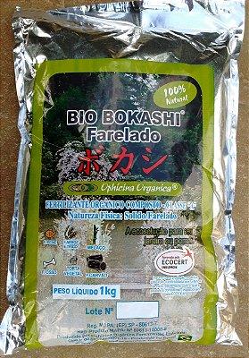Fertilizante Natural Completo Bio Bokashi Farelado Certificado Orgânico 1 Kg + Brinde