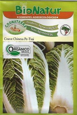 Semente Orgânica de Couve Chinesa Pe-Tsai 3 gr + Brinde
