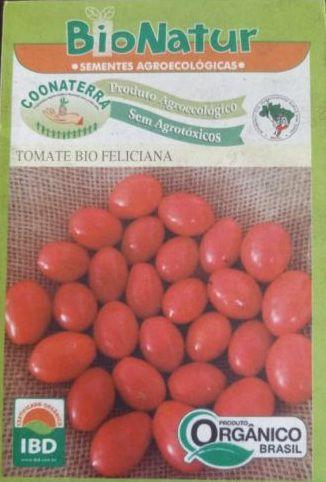 Semente Orgânica de Tomate Bio Feliciana 1 G + Brinde