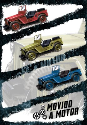 ADESIVO JEEP WILLYS