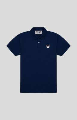 Camisa Polo Slim Marinho Husky