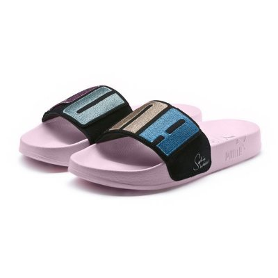 Puma x Sophia Webster Women's Leadcat Patent Slide Sandals