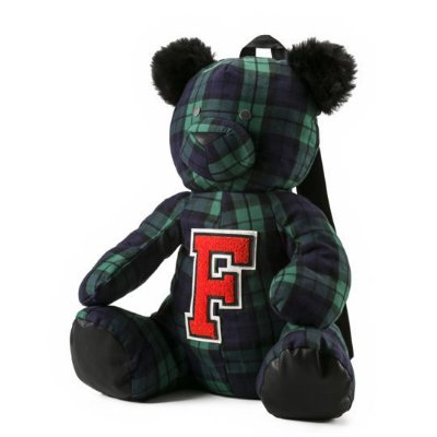 Puma Fenty Unisex Mascot Bear Backpack Plaid