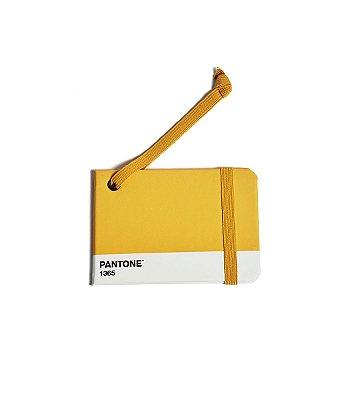 Tag de Mala Cicero e Pantone Amarelo