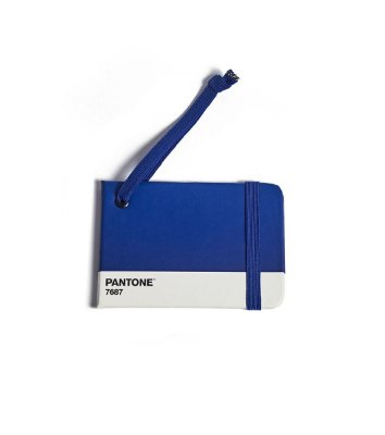 Tag de Mala Cicero e Pantone Azul