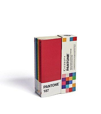 Caderneta Revista Cicero + Pantone Sem Pauta Kit 8 unidades 9×13 PANTONES