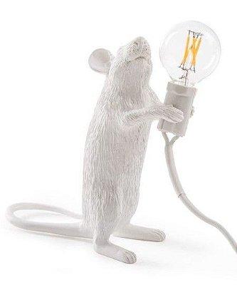 Luminária de Mesa Rato em Pé