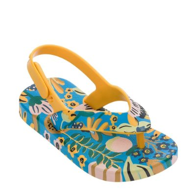 Mini Melissa + Ipanema Amarela/Azul