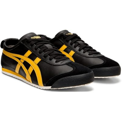 TÊNIS MEXICO 66 BLACK/GOLD ONITSUKA TIGER