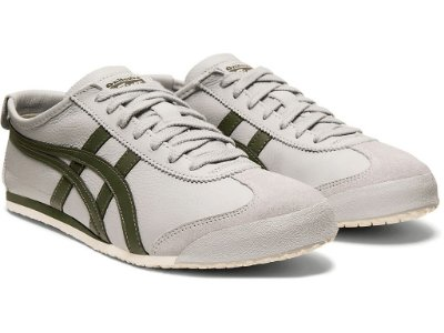 TÊNIS MEXICO 66 MID GREY/PINE TREE ONITSUKA TIGER