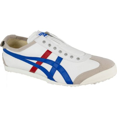 TÊNIS MEXICO 66 SLIP-ON WHITE/TRICOLOR ONITSUKA TIGER