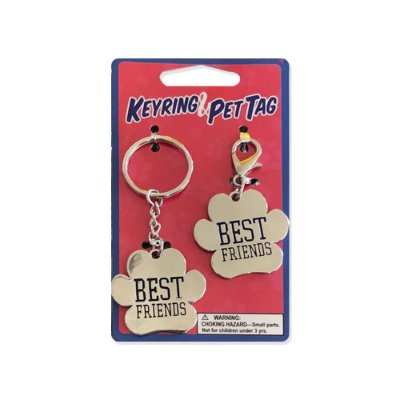 KEYRING PET TAG