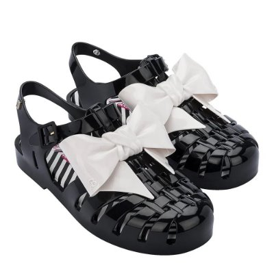 Melissa Possession Print + Barbie Preto/Branco