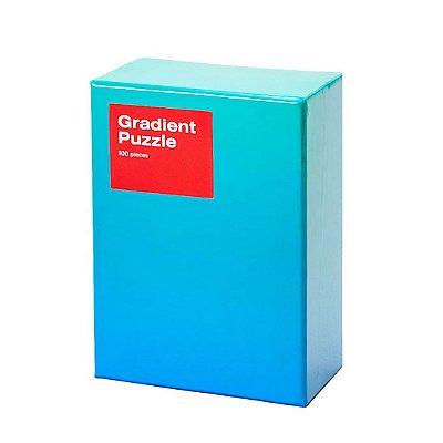 Gradient Puzzle Pequeno - 100 peças (Blue/Green)