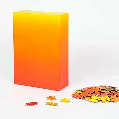 Gradient Puzzle - 500 peças (Red/Yellow)