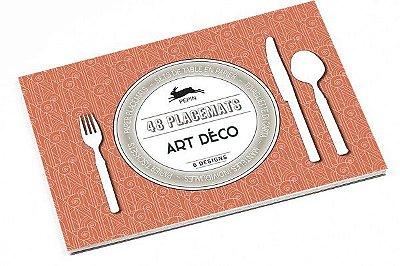 ART DÉCO PAPER PLACEMAT PADS 6 DESIGNS