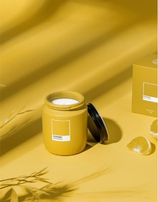 Vela Pote Yellow Bergamot Pantone