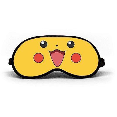 Máscara de Dormir Personalizada Pikachu