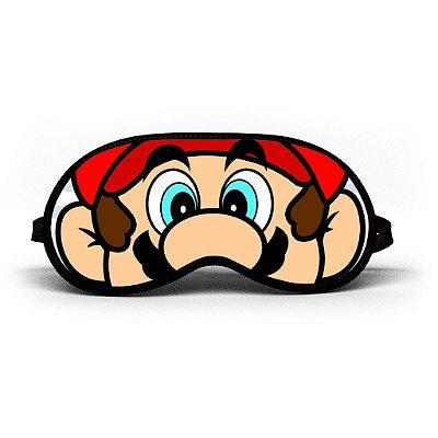 Máscara de Dormir Personalizada Mario