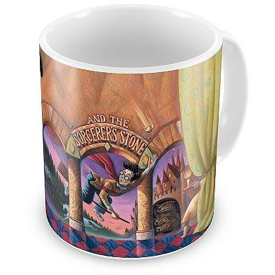 Caneca Personalizada Porcelana Harry Potter e a Pedra Filosofal