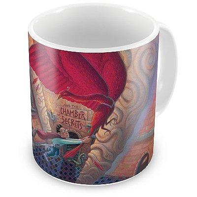 Caneca Personalizada Porcelana Harry Potter e a Câmara Secreta