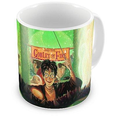 Caneca Personalizada Porcelana Harry Potter e o Cálice de Fogo