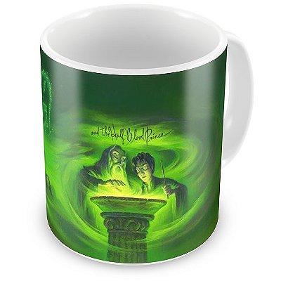 Caneca Personalizada Porcelana Harry Potter e o Enígma do Príncipe