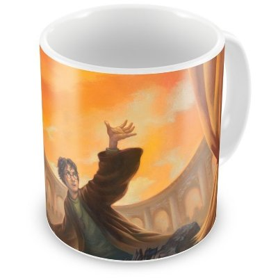 Caneca Personalizada Porcelana Harry Potter as Relíquias da Morte