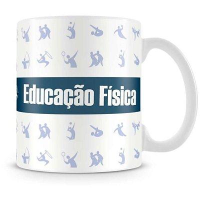 Caneca Personalizada Porcelana Profissão Educação Fisica (Mod.1)