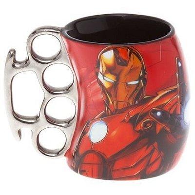 Caneca Soco Inglês Homem de Ferro