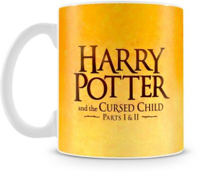 Caneca Personalizada Porcelana Harry Potter e a Criança Amaldiçoada