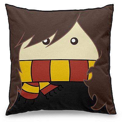 Almofada Personalizada Harry Potter Bruxinha Hermione