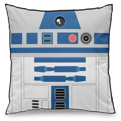 Almofada Personalizada Geek Side Star Wars R2D2