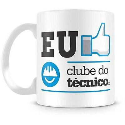 Caneca Personalizada Porcelana Clube do Técnico (Mod.1)