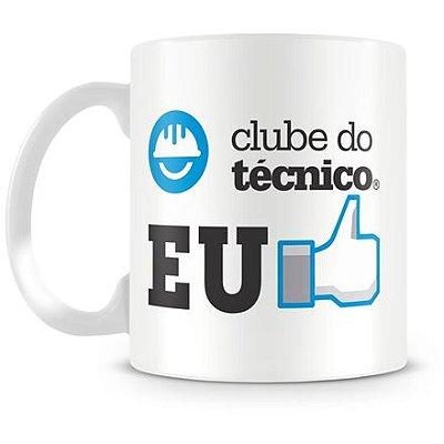 Caneca Personalizada Porcelana Clube do Técnico (Mod.3)