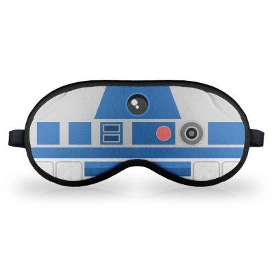 Máscara de Dormir Personalizada Geek Sid Faces R2D2
