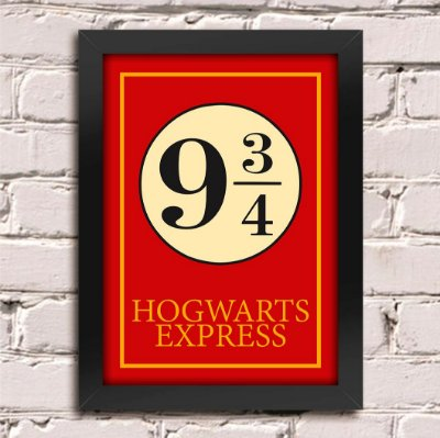 Poster Harry Potter Hogwarts Express
